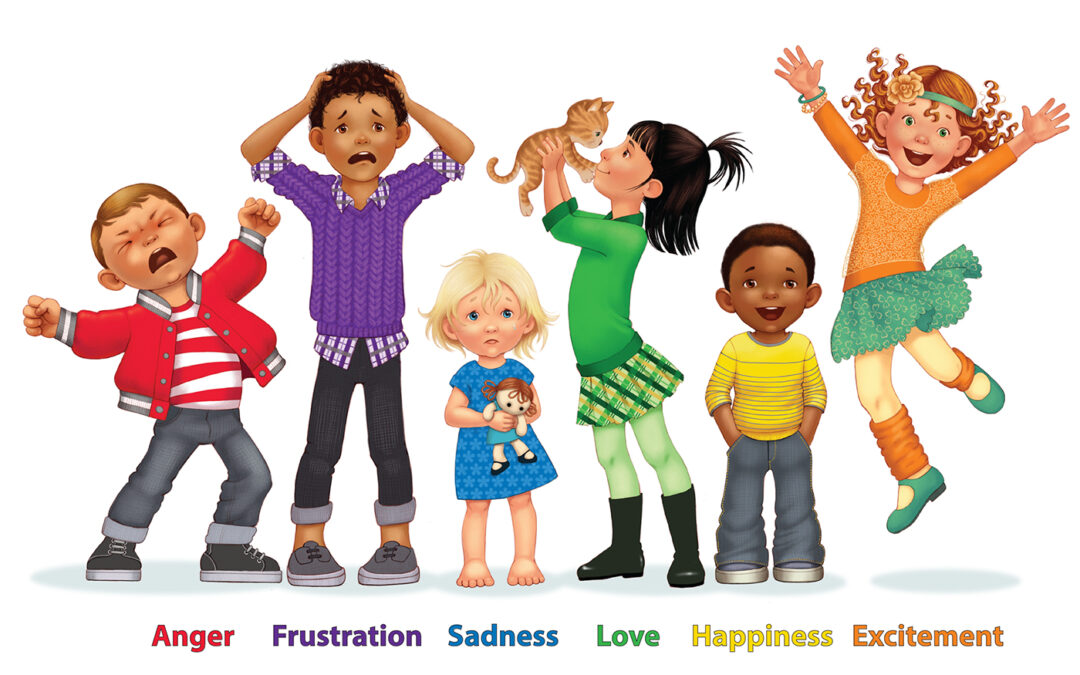 The 6 Emotions in Little BIG Feelings